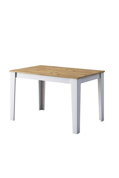 Rani T1 Mutfak Masası 110 Cm Açık Ceviz - Beyaz M1