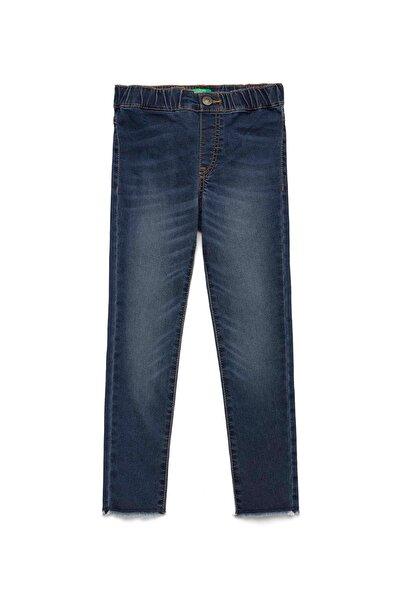Denim Çocuk Cebi Logolu Streç Jean Pantolon