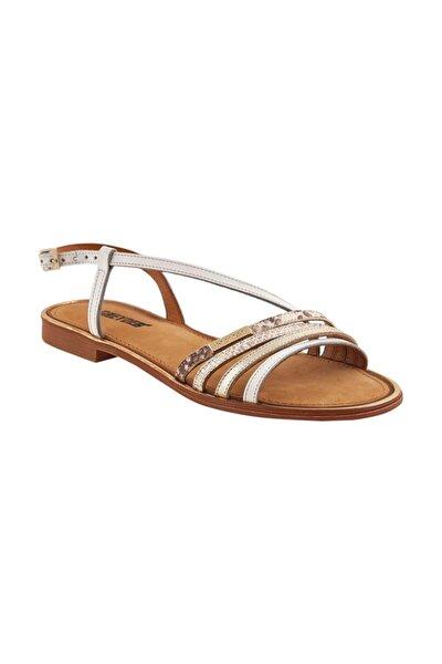 Kadın Beyaz Altın Yılan Sandalet 0Y2AS57337
