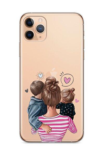 Apple Iphone 11 Pro Telefon Kılıfı Süper Anne Tasarımlı
