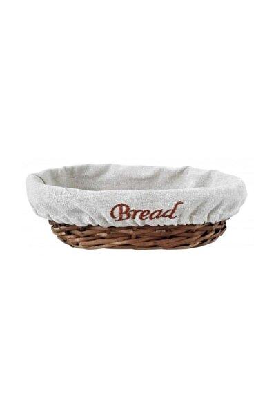 Groovy Ekmek Sepetı Hasır Bezlı Oval 24*17*7
