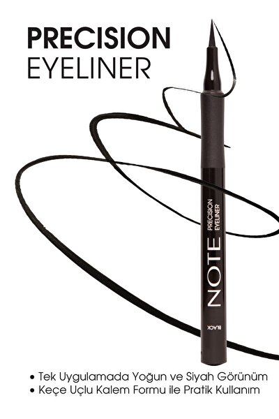 Siyah Eyeliner - Precision Eyeliner Black 8680705332013