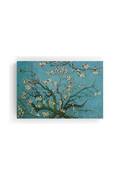 Van Gogh Çiçek Açan Badem Ağacı Kanvas Tablo 45 X 30 Cm Tb-9696K