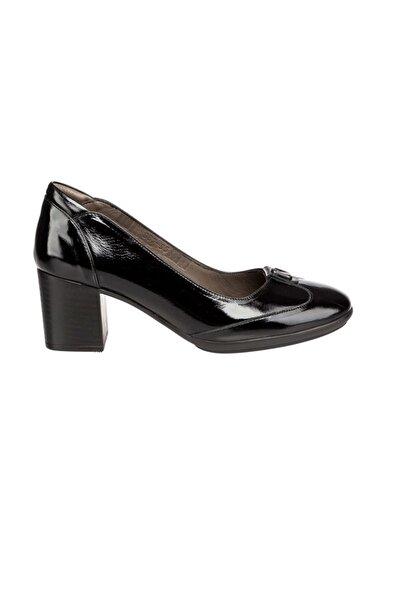 Kadın Ayakkabı Siyah Rugan
