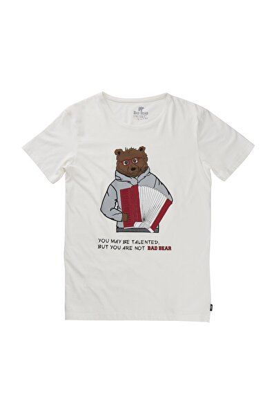 BUSKER TEE OFF-WHITE