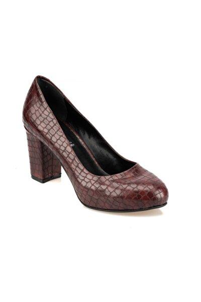 92.313153YZ Bordo Kadın Ayakkabı 100421755