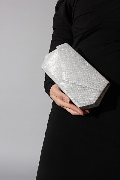 Kadın  Deri Gümüş Çanta