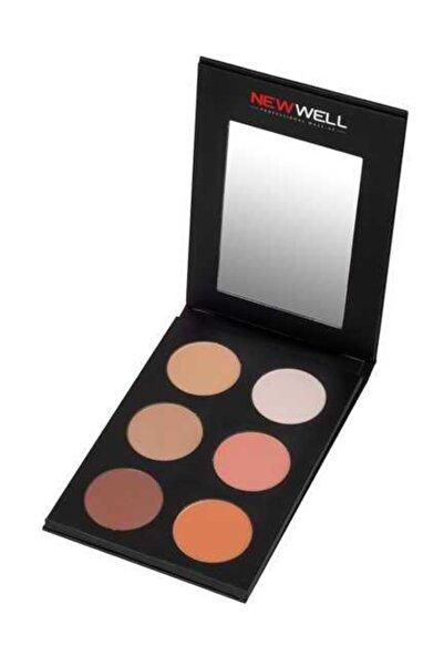 Kontür & Allık Paleti - Contour & Blush Palette 6 Colour 8680923319599