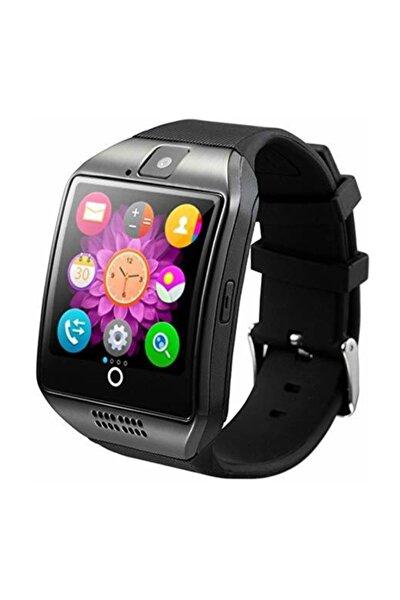 Q18 Sim Kartlı Giyilebilir Eğimli Ekran Curved Ekran Akıllı Kol Saati