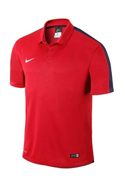 Erkek Squad 15 Sideline Polo Yaka Çocuk Kırmızı Tişört 646405