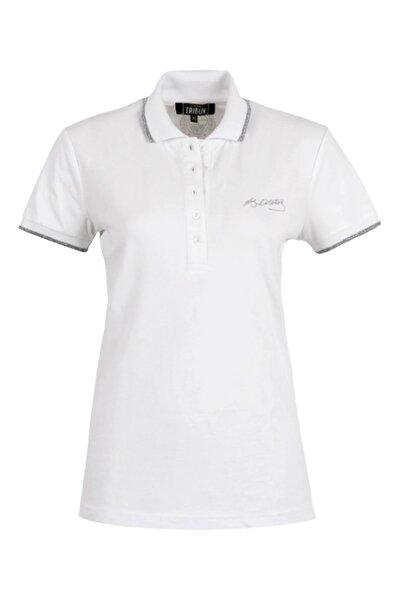 Kadın Atatürk İmzalı Polo Yaka T-Shirt TK038B9S01