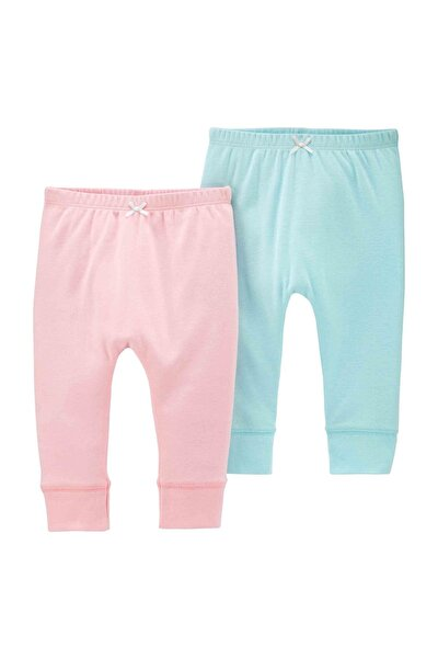 Layette Kız Bebek 2'li Pantolon