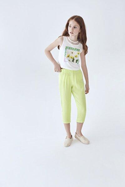 Kız Çocuk Yeşil Pantolon