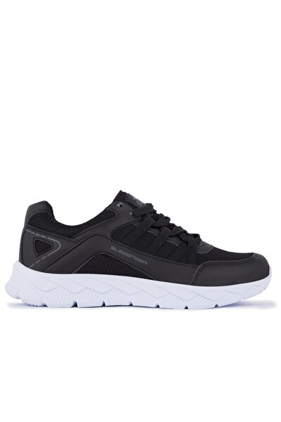 Karman Koşu & Yürüyüş Kadın Ayakkabı Siyah / Beyaz
