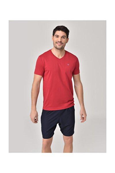 Kırmızı Erkek T-Shirt GS-8898
