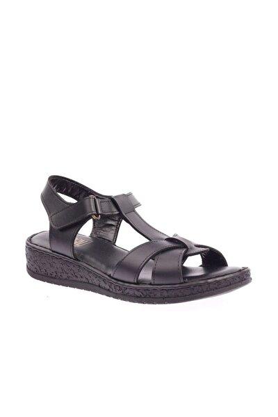 Siyah Kadın Sandalet 600-20015-578