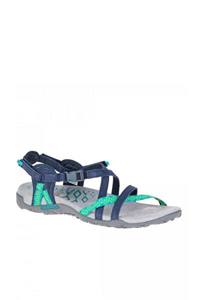 Lacivert Kadın Sandalet J56516.71C