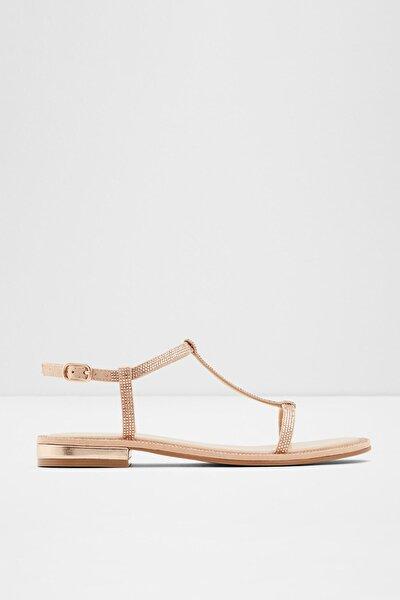 Kadın Pembe Altın Sandalet