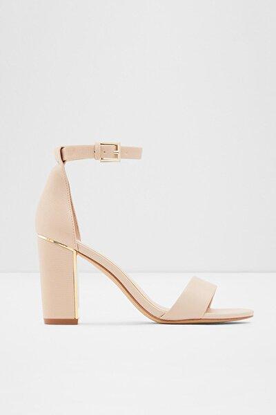 GRADIFOLIA - Bej Kadın Yüksek Topuklu Sandalet
