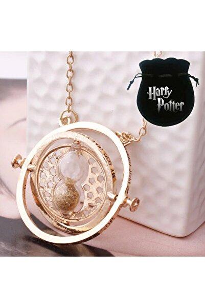 Harry Potter Time Turner Hermione Granger Kum Saati Kolye Zamanda Yolculuk Kolyesi