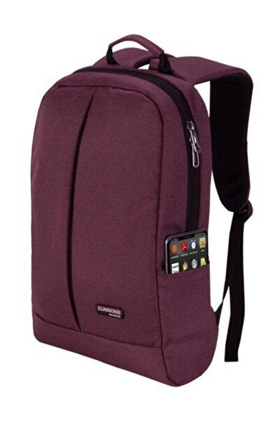 BP-Z205 Zaino Serisi 15.6 inç Uyumlu Laptop,Notebook Sırt Çantası-Bordo
