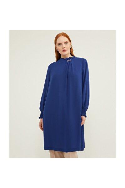 Kadın Saks Mavi Tunik V159040120
