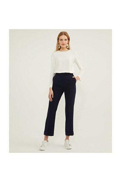 Duble Paça Lacivert Pantolon V35830150
