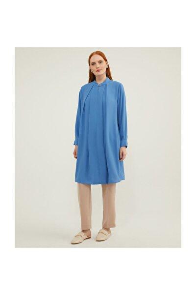Büyük Beden Mavi Tunik V159010111