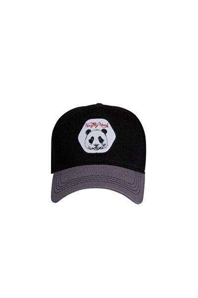 Siyah Erkek Şapka PANDA CAP NIGHT