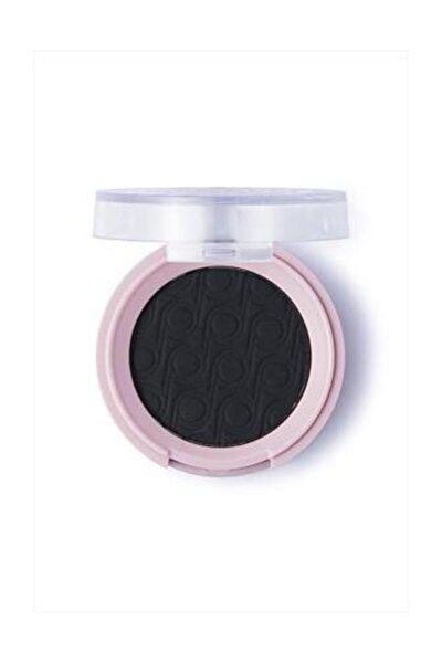 Mat Göz Farı - Pretty By Flormar Single Matte Eye Shadow 12 S.Black 8690604466238