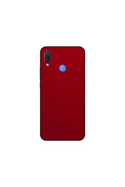 Huawei P Smart 2019 P Smart Plus Kırmızı Kadife Telefon Kaplaması