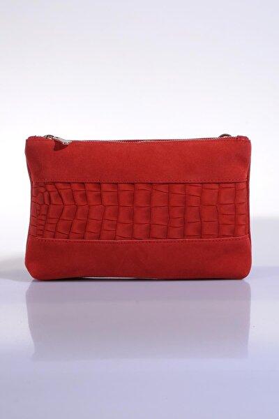 Kadın Kırmızı Omuz Çantası sgzd3577-1-nar