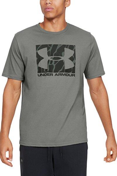 Erkek Spor T-Shirt - UA Camo Boxed Logo Ss - 1351616-388