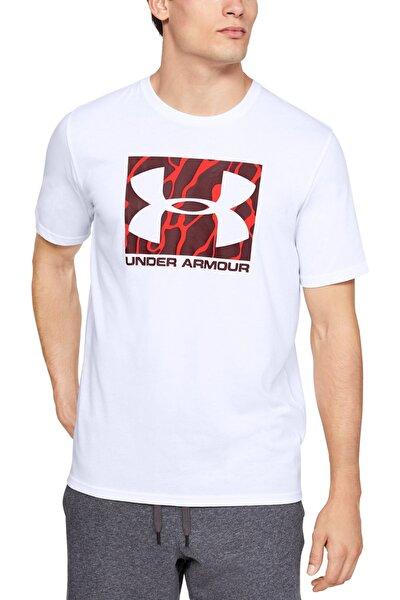 Erkek Spor T-Shirt - UA Camo Boxed Logo Ss - 1351616-100