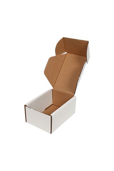 10x7x4,5cm Beyaz E-ticaret Kargo Kutusu [10 Adet]
