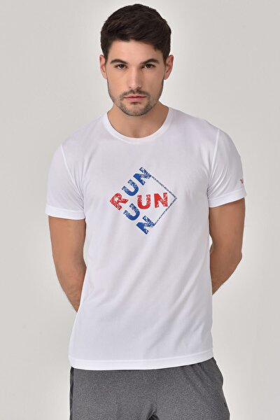 Beyaz Erkek T-Shirt GS-8805