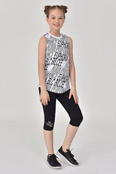 Beyaz Kız Çocuk Atlet GS-8173