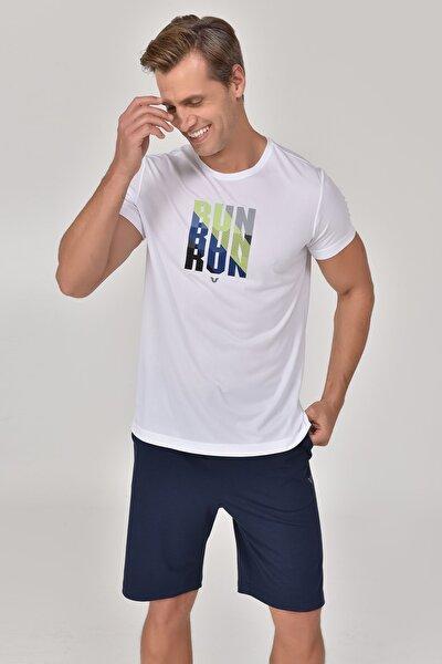 Beyaz Erkek T-Shirt GS-8801