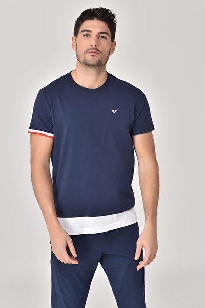 Lacivert Erkek T-Shirt GS-8887