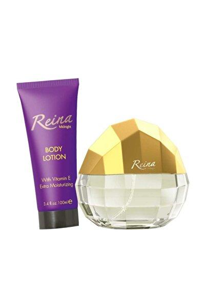 Reina  Edp + Vücut Losyonu 2'li Kadın Parfüm Seti 9400100099999