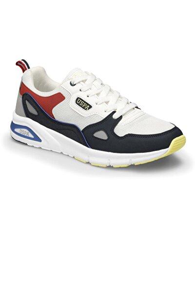 U.s. Polo Assn. Erkek Spor Ayakkabı 0M Venus Beyaz-Laci 10S04VENUS