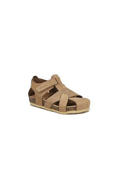 Adonis Deri Sandalet Bej