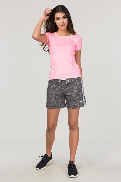 Pembe Kadın Antrenman T-Shirt FS-1735