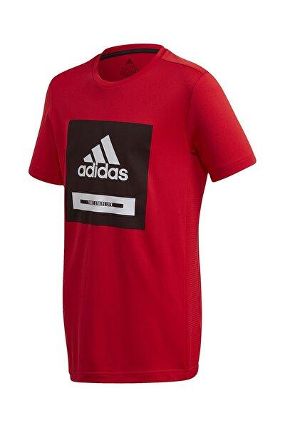 FK9505-C adidas Jb Tr Bold Tee Çocuk T-Shirt Kırmızı