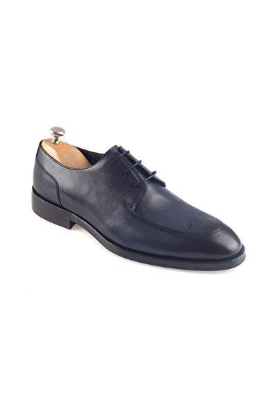 Hakiki Deri Klasik Lacivert Erkek Ayakkabı Ronny