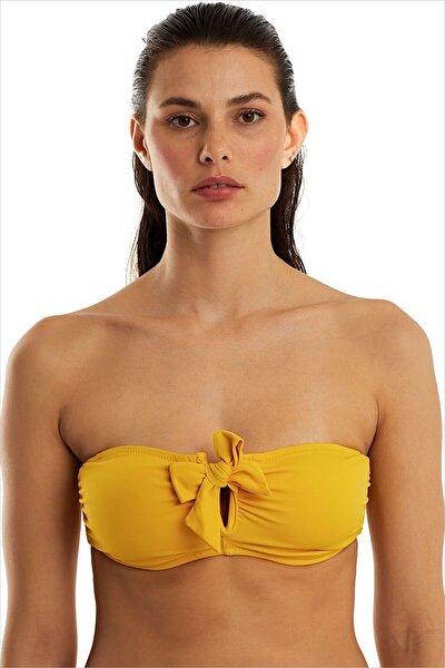 Kadın Sarı  Bikini Üstü 63547/D2022