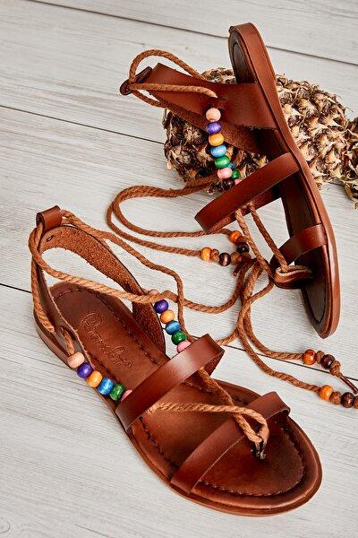 Kahve Kadın Sandalet L0776020009