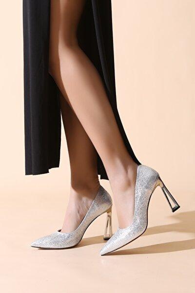Gümüş Kadın Abiye Ayakkabı 400.000270