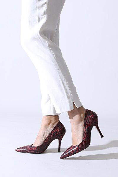 Bordo Kadın Abiye Ayakkabı 777.000300