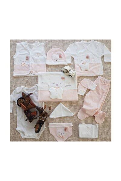 Kız Bebek 10 Parça 0-3 Ay Hastane Çıkışı Seti 100660